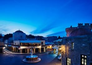 Hippocratous Square, Rhodes Old Town