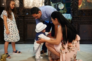 baptism photography on rhodes